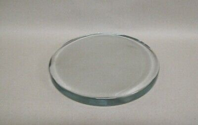Restaurant Equipment Bar Supplies ROUND THICK GLASS TRIVET WITH SMALL FEET