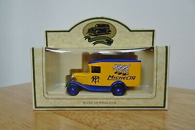 Lledo Days Gone FORD MODEL A VAN  MICHELIN -  promotional model rare mint  boxed