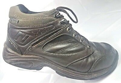 380c1674eafa8 New Balance 1569 Gore-tex Brown Leather Ankle Lace Up Hiking Boots Mens Sz  7E