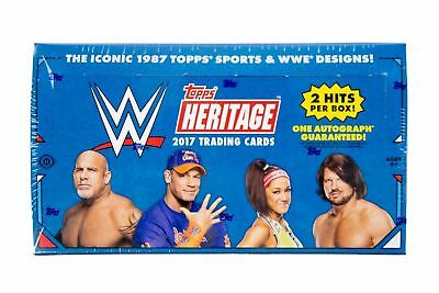 2017 Topps WWE Heritage Wrestling - Base - PICK YOUR CARD - COMPLETE YOUR SET