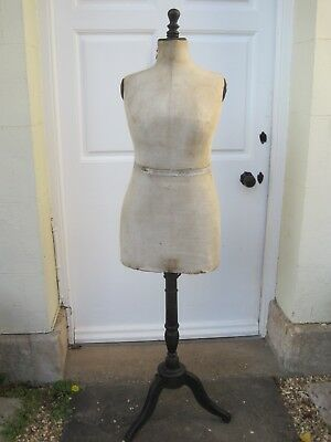 Vintage Early 20th Century French Female Shop Mannequin/Tailors Dummy Size 44*