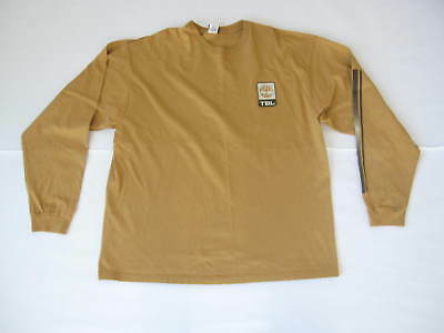1841d221 Vintage Mens Timberland Cotton Long Sleeve Crew Neck Shirt Size XL (Made in  USA)
