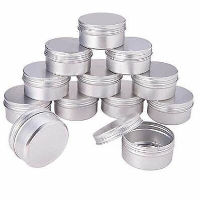 Aluminum Tin Jars Metal Empty Cosmetic Face Care Eye Cream Lip Balm Wholesale