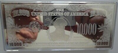 2 x DISCOUNTED 2019 4oz .999 FRANKLIN CURRENCY SILVER BARS + CASE + COA ~ FLAWS