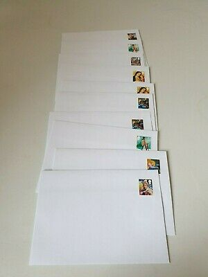 PRE STAMPED C6 ENVELOPES 2nd CLASS STAMPS x 25