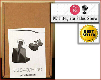 NEW Plantronics CS540 / HL-10 Wireless Headset with HL10 Handset Lifter FASTSHIP