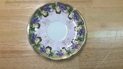 "Royal Sealy China Pear Motif.5 5/8"" Saucer - Fine Bone China from Japan"