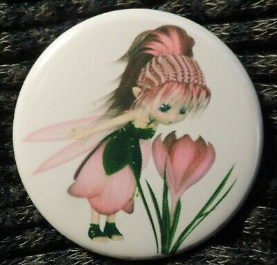 Pin Button Badge Ø38mm ( la petite fée ) #2