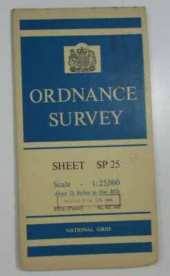 1951 Old OS Ordnance Survey 1:25000 1st Series Map SP 25 Stratford-upon-Avon E