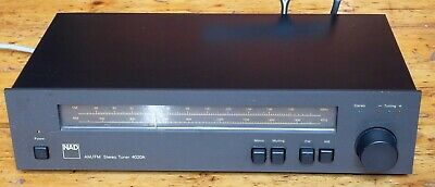 NAD 4020A FM/AM Stereo Tuner - fully tested and with original packaging
