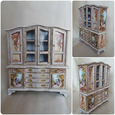 12th scale Dolls House Display Cabinet/~ designed by Evagreen35