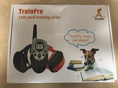 TrainPro Exec Dual 1100 Yard Rechargeable Remote Waterproof Dog Training