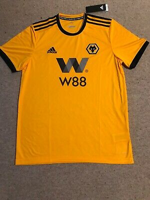 Wolves Football Shirt Wolverhampton Wanderers Large