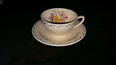 Susie Cooper Printemps Cup and Saucer.