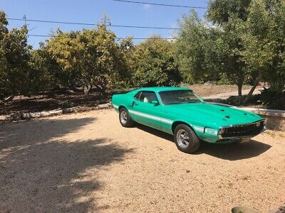 1969 Ford Mustang GT 500 1969 FORD SHELBY GT500 MUSTANG 69 70 SHELBY