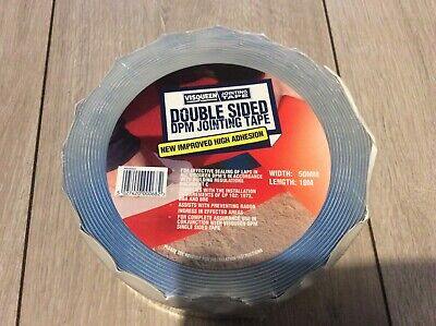 VISQEEN Double Sided dpm jointing Tape - Width 50mm Length 10m