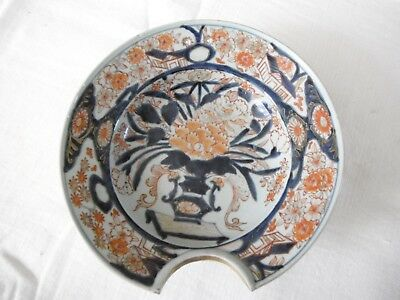 Large beard bowl with shaving bowl decor imari Japan 18th century Edo Periode