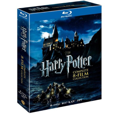 LOT OF (5) - BLU-RAY Film and 4 DVDs Complete Series- Brand New
