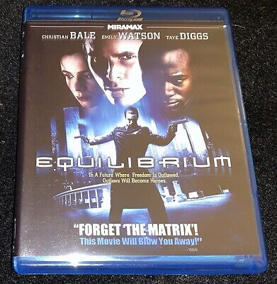 Equilibrium (Blu-ray; no DVD; no digital copy; Christian Bale)