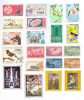 CARIBBEAN   Album page of Mint/Used Stamps (M526)