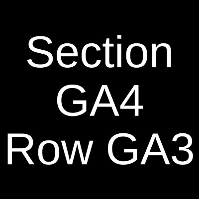 4 Tickets A Boogie Wit Da Hoodie 4/27/19 White Plains, NY