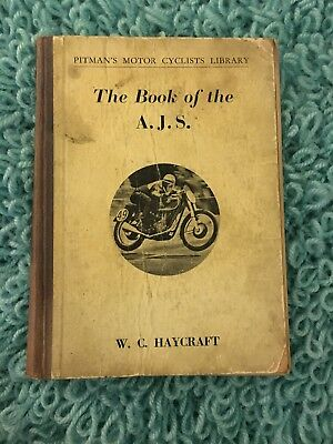 The Book Of The Ajs Pitman Motorcyclist Library 1950