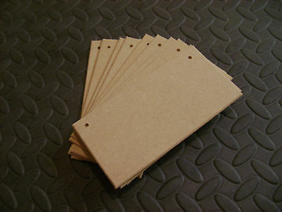 "50) 8"" x 4"" TOP QUALITY MIDITE PERMIER 4mm MDF WOODEN PLAQUES SIGNS BLANKS"