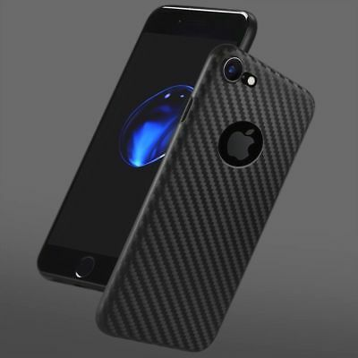 Case for iPhone 6 7 8 X  Carbon Fibre Soft Cover TPU Silicone Slim protection