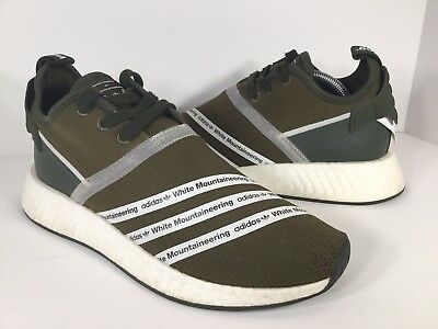 Details about Adidas WM NMD R2 PK Trace Olive Mountaineering Size 8.5 CG3649 yeezy ultra boost
