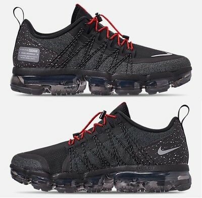 Nike Air Vapormax Run Utility Men's Running Black - Reflect Silver - Anthracite
