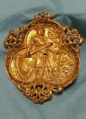 Antique Brass Plate  Plaque , Finishing ,