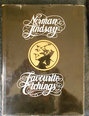 Norman Lindsay Favourite Etchings - Hardcover