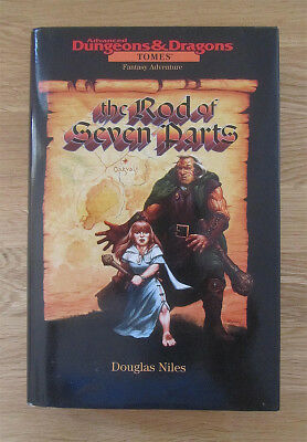 Douglas Niles The Rod of the Seven Parts Hardcover
