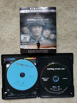 Saving Private Ryan (4K Ultra HD, Digital Code, and Blu-ray) Tom Hanks, Damon