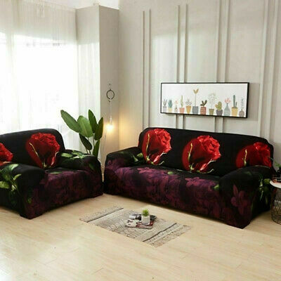 Magnificent Floral All Inclusive Sofa Cover Solid Folding Armless Bralicious Painted Fabric Chair Ideas Braliciousco