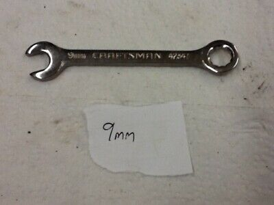 Craftsman 9mm 42347 Ignition Midget Combination Wrench USA Made