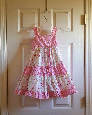 774520b05 RARE Girls boutique Chasing Fireflies Kate Mack pageant party Easter dress  sz 5