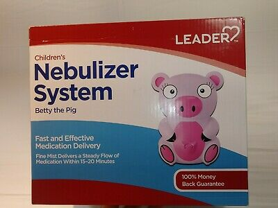 Healthcare Pediatric Nebulizer System Betty The Pig LEADER