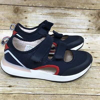 Zara Girls Trainers Fashion Sneakers Red White Blue Size 36 4US