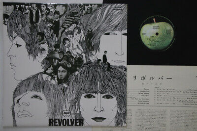 LP BEATLES Revolver AP8443 APPLE JAPAN Vinyl