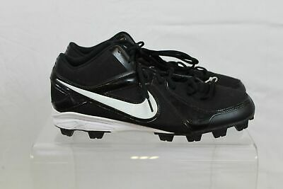 on sale 3a4b0 de654 Nike MVP Keystone Black White Nike Power Chanel Mens Baseball Cleats Size 13