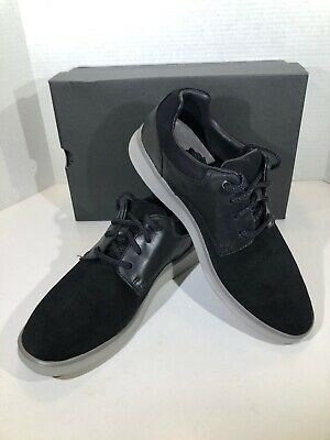 72e52f00991 UGG HOYT HIGH Tops Black Leather And Suede Sneakers Size 9 1012615 ...