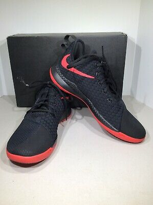 65c2a93ee15d5 NIKE LEBRON WITNESS III Men s Size 11 Black Red Basketball Shoes X18 ...