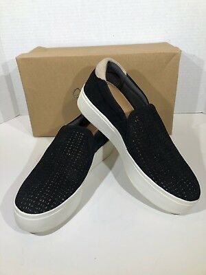 68b44a5fbd9 Dr. Scholls Abbot Women s Size 7.5 Black Suede Slip On Casual Shoes X16-1260
