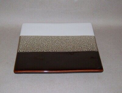 Restaurant Equipment Bar Supplies PIER 1 TRI COLOR STONE TILE TRIVET FOOTED
