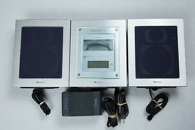 NAKAMICHI SoundSpace 5 Stereo Audio System AM/FM Radio MusicBank 3-CD Changer
