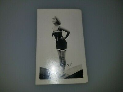 VINTAGE 1920s BATHING BEAUTIES SMALL PHOTO CARD VERY RARE!  LOT #7