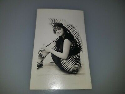 VINTAGE 1920s BATHING BEAUTIES SMALL PHOTO CARD VERY RARE!  LOT #2