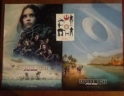 STAR WARS ROGUE ONE:A STAR WARS STORY 13x19 DS MOVIE POSTER, promo Tattoos