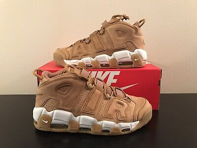 3a86f62632 NIKE AIR MORE Uptempo 96 Prm Wheat Flax Aa4060 200 Size 12 - $82.00 ...